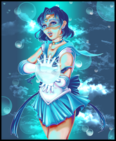 Sailor Mercury by JamFlavored
