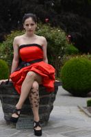 Red Satin 2 by Anariel-Stock