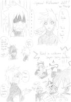 Special Halloween 2012 Comic Pg 1 by MikaGx