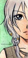 Daenerys bookmark - back by Alkanet