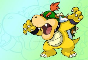 Baby Bowser...fear him by BenjaminTDickens