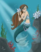 Mermaid In Blue by kuabci