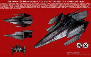 V-Wing Starfighter ortho [2][New] by unusualsuspex