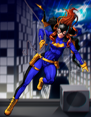Batgirl Fan Art  by fradarlin