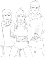 Team Korra by BlueDecember89