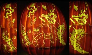 Castle Crashers-Ambush Pumpkin by RebelATS