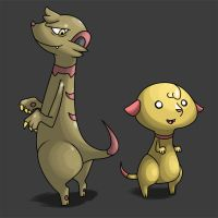 Weasel Fakemon by El-Dark-Core