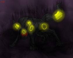 The Power of Darkness-Umbreon by FantasyDemonAngel