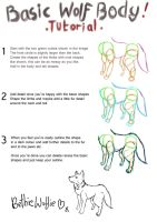Basic Wolf Body Tutorial 1 by Tebyx