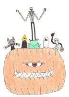 The All Seeing Pumpkin by Mr-Illusionist-1331