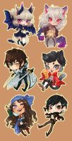 Chibi Com. Batch 4 by SunnyCove