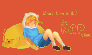 NAP TIME by sentaidash