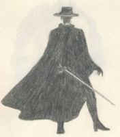 The Mask of Zorro by BlackUmbral