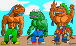 New Extreme Dinosaurs by reg92