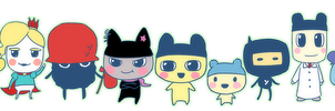 Tama: Tamagotchi Host Club by bone-kun