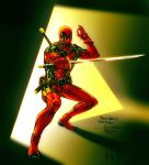 Deadpool-Spiderguile drawing by Luis-Guerrero