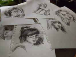 Practice Portraits by Elrohr