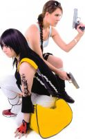 Lara and Faith Action by IXISerenityIXI
