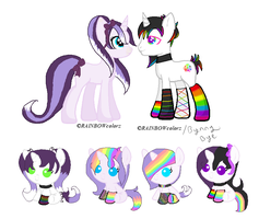Matahari x Pop Rocks (closed) by Bunny-Bye-Adopts