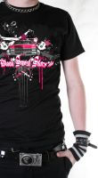 Pink Caddy Tee by BleedingStarClothing