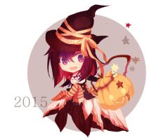 Little Witch Lenalee by noname1995