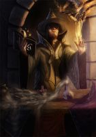 The Mage by freezu