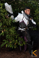 Lucian The Purifier Cosplay: Up in the Jungle by Winged-Mouz