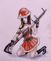 Meet the long gun of the law - Caitlyn by kapiheartlilly