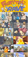 Fairy Tail x Rave OVA by EllieBimbo