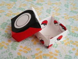 Pokeball Box by candymonsters