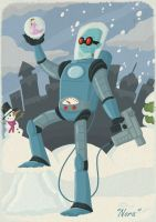 The Lamentation of Mister Freeze by tyrannus