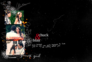 blair and chuck by LAMIA-2