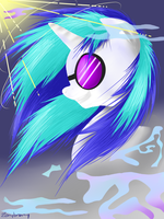 Vinyl Scratch by zonybrony
