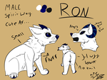 Ron (ref) by jazzyloveswolves