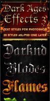 Dark Ages 3 - Text Styles by ivelt