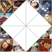 Doctor Who paper fortune teller by XigiXhio