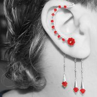 Red Ear Wrap v3 by YouniquelyChic
