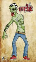 Zombie II by Mad3m0is3ll3-K3y