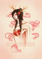 Oiran for Vegarden by LucitaniaMarie