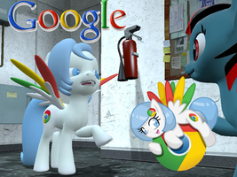 Google Chrome Garrysmod Pony DL by LunarGuardWhoof