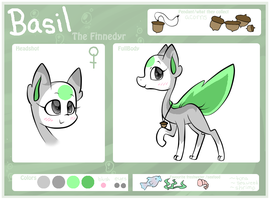 Basil Reference Sheet by jpstardust