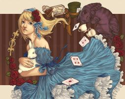 alice in wonderland by digispectre
