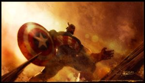 CAP ATTACK by CapMoreno