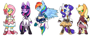 Magical Mares by SoullessTeddybear