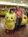 PokeCon - Me with Pikachu by PokemonTrainerLisa