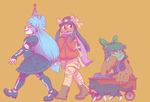 trick or treat squad by Seaworm