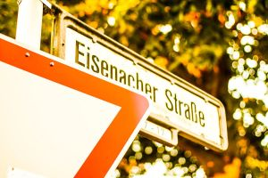 street sign by daPerforM