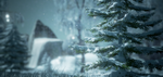 Snowy Mountainside (Unreal 4) by XiloXiao