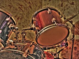 Drum Kit -HDR- by tripptaylor