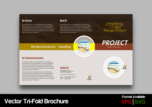 Trifold Brochure Concept #2 by ademalsasa